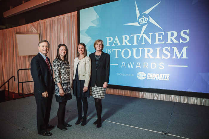 Visit Charlotte CRVA Partners in Tourism Awards