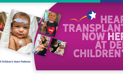 Heart Transplants Now HERE at Dell Children's