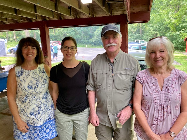 picture from 2021 democratic Back togheter picnic in Chester county Pa