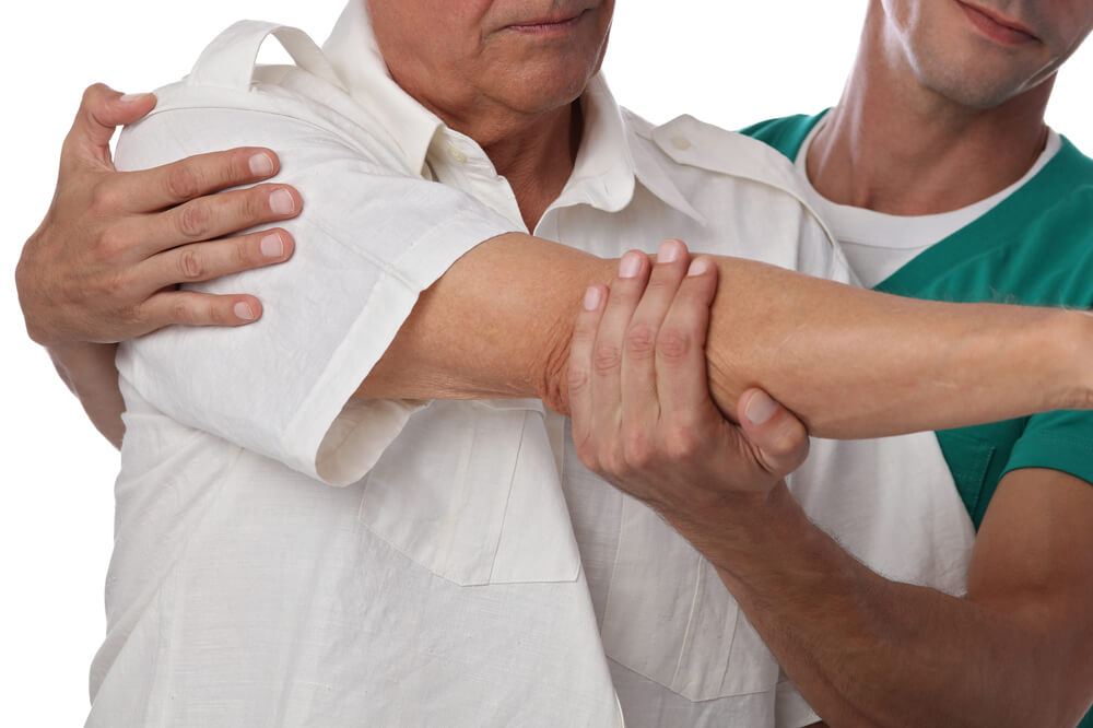 Two frozen shoulder physical therapy methods in Portage, MI