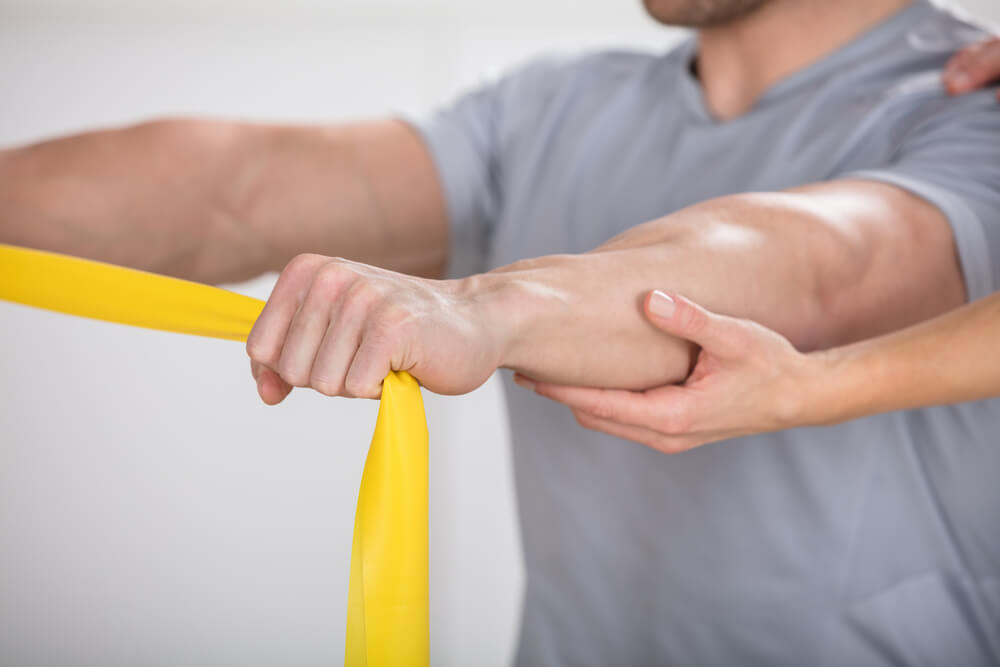 Three phases of physical therapy after rotator cuff surgery