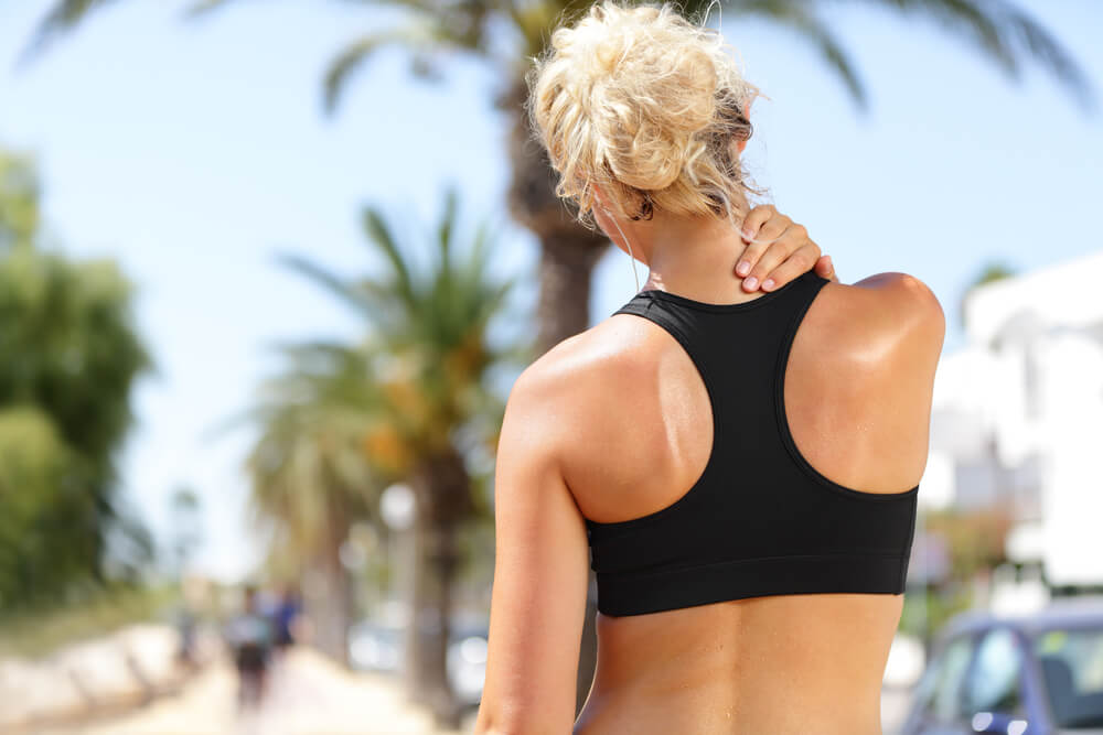 Four conditions that cause neck and shoulder muscle pain