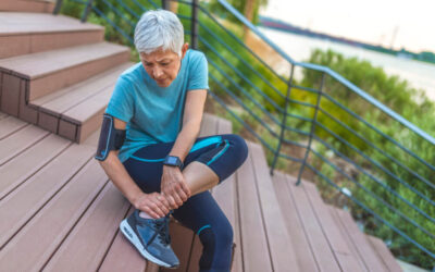 How can you determine if you have a sprained ankle versus a broken ankle?