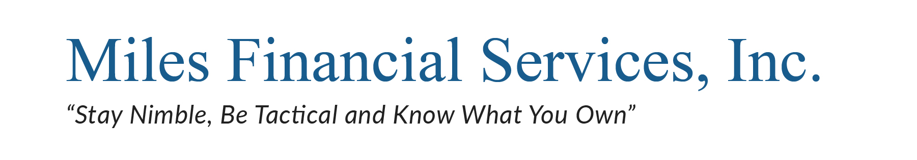 Miles Financial Services, Inc.