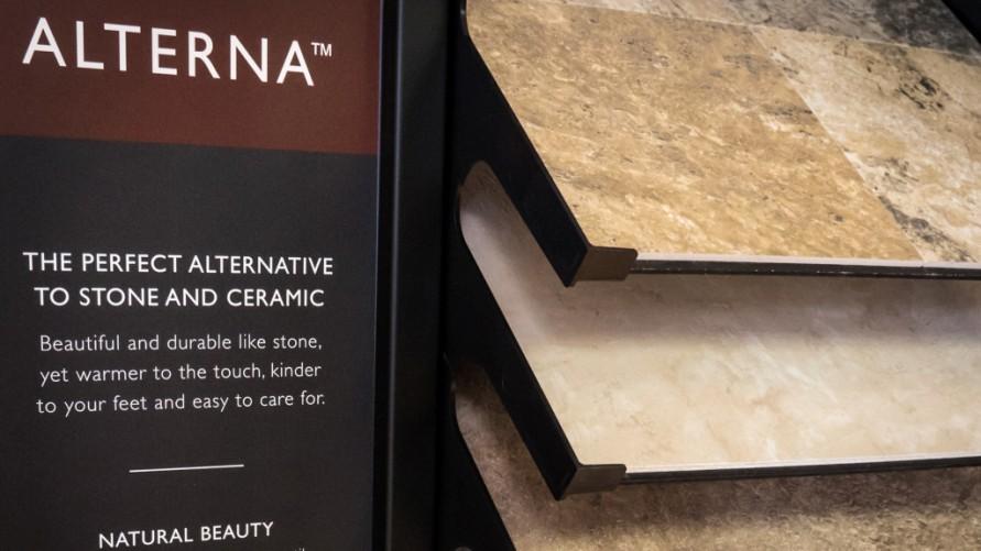 Alterna Flooring Samples - Design Center - Gerome's Kitchen And Bath