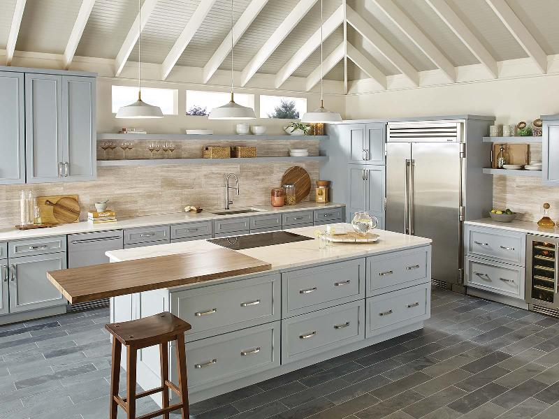 Bertch Cabinetry - Portland Style White - Gerome's Kitchen And Bath