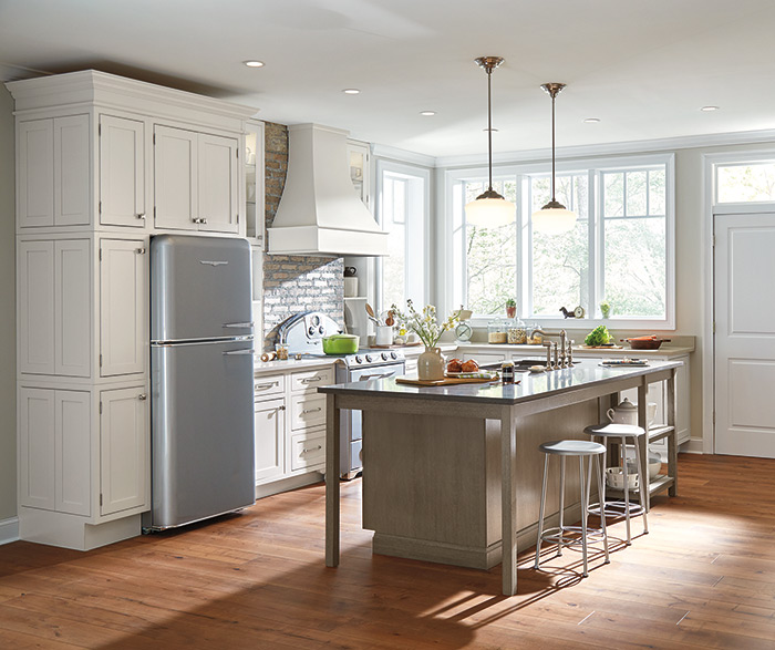 Kemper Cabinets - Light Inset Doors - Gerome's Kitchen And Bath