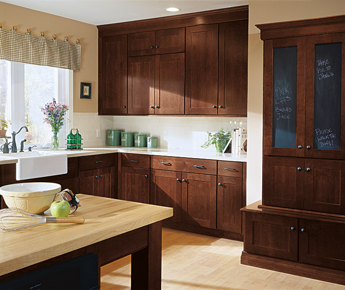 Kemper Cabinets - Shaker Style - Gerome's Kitchen And Bath