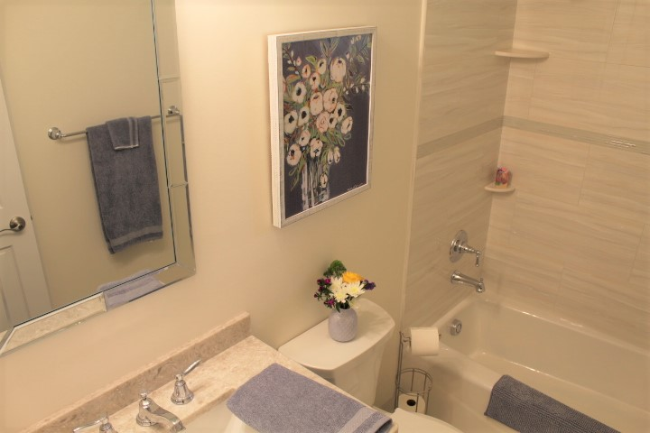 Guest Bath - Small Bathroom Remodel - Chesterland - Gerome's Kitchen And Bath