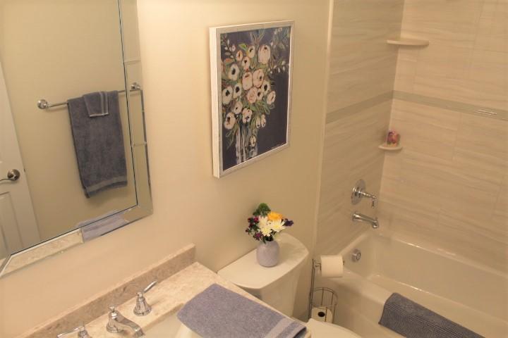 Guest Bath - Small Bathroom Remodel - Chesterland - Gerome's Kitchen And Bath
