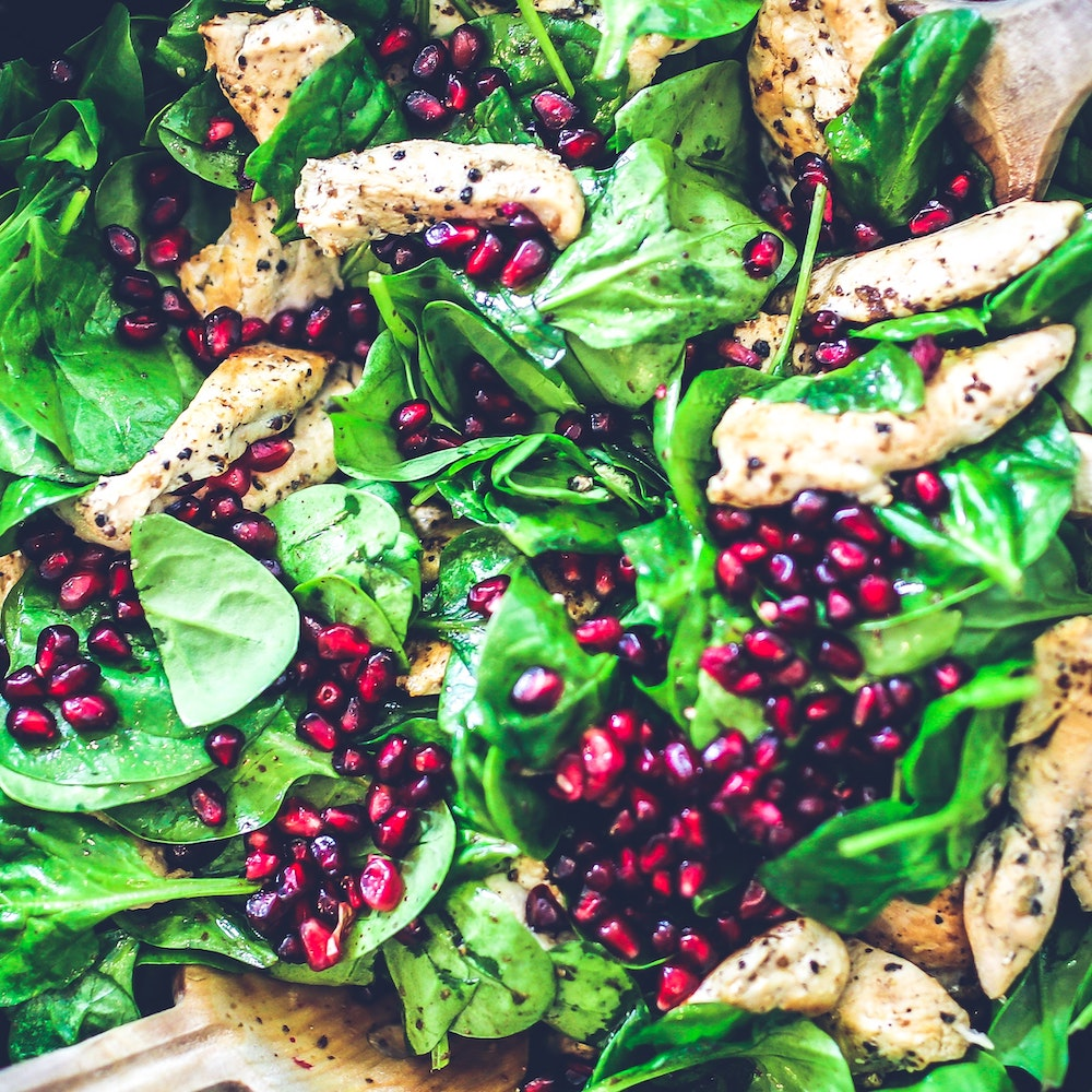 spinach-chicken-pomegranate-salad-5938