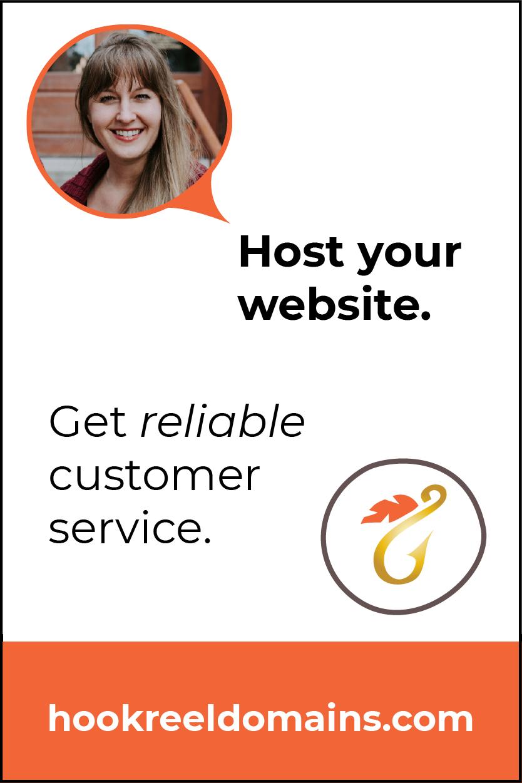 Host your website with Hook & Reel Design.