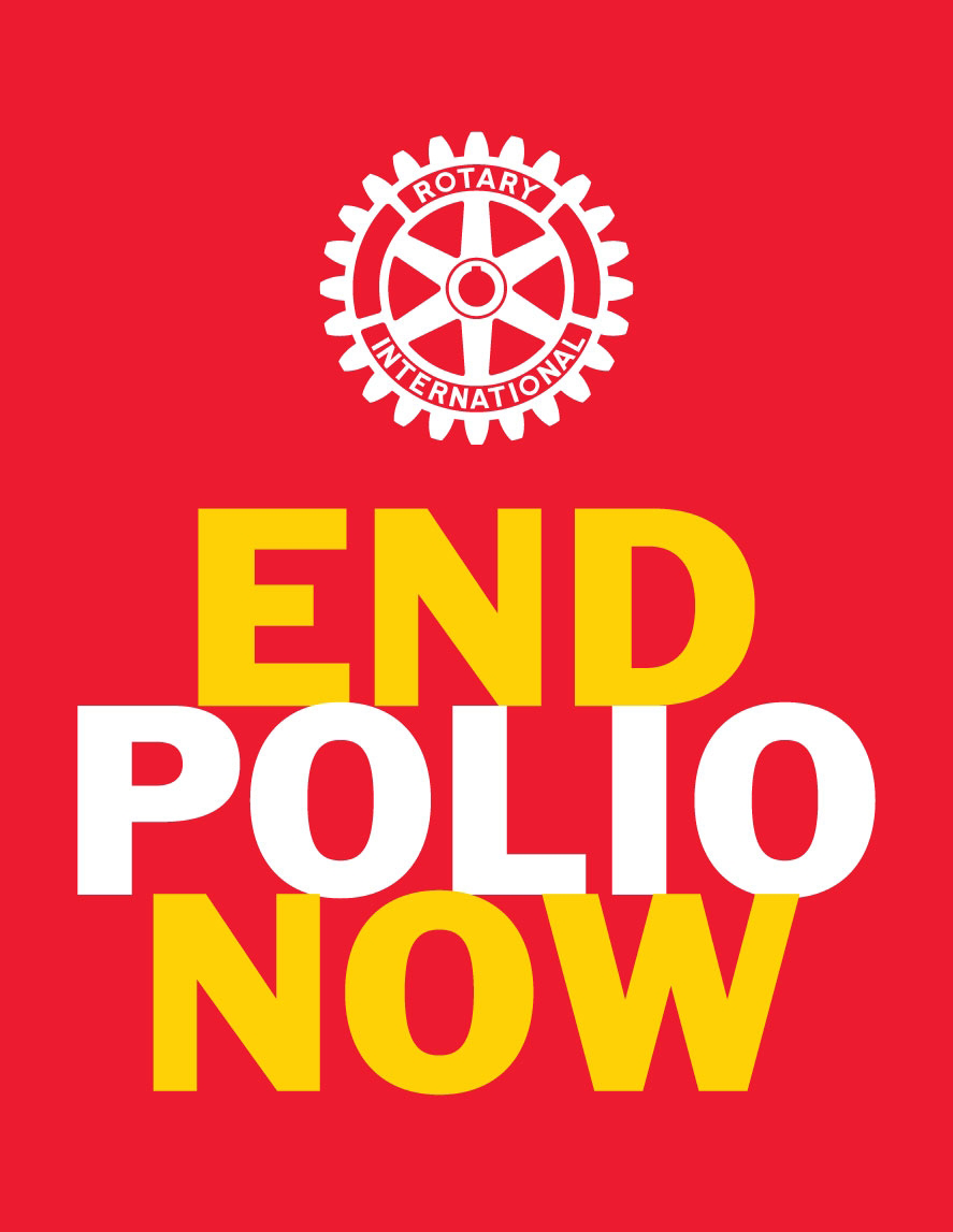 End Polio Now Sign