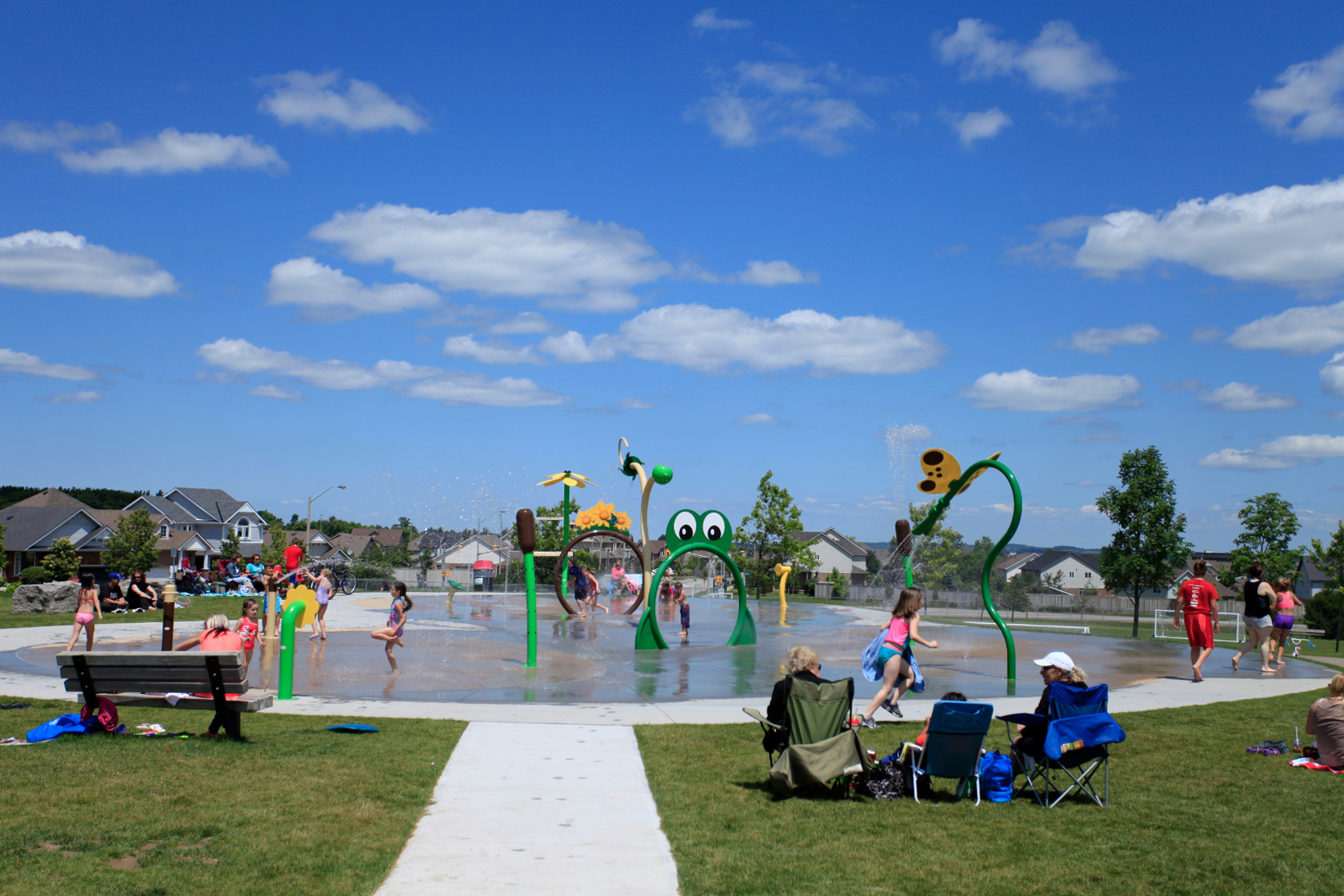 Fendley Park Splash Pad