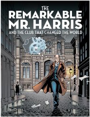 Remarkable Mr Harris Comic Cover