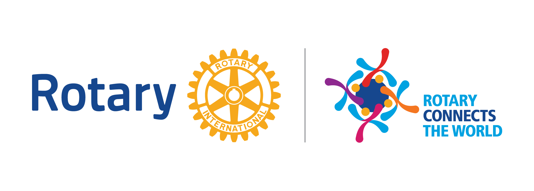 2019-20 Theme Logo Rotary Connects The World