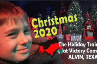 2020 Christmas Train at Victory Camp