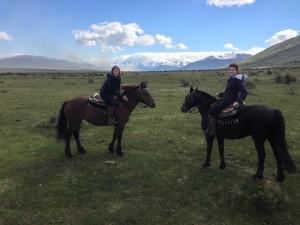 A memorable horseback ride