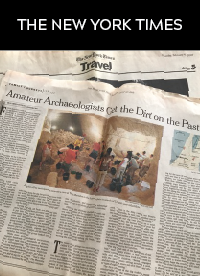 Amateur Archaeologists Get the Dirt on the Past