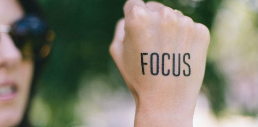 The New York Times article from Caren Osten on how to get focused