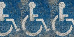 multiple handicapped parking spots