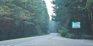 picture of a road in Oregon