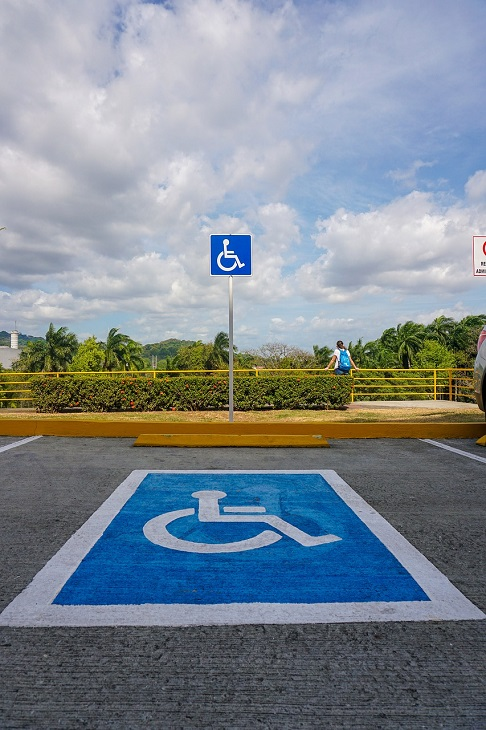 Disabled Parking - disabled parking space
