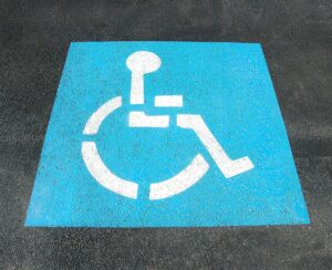 Disabled Parking - parking illegally