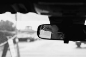 Disabled Parking - driving during lockdown coronavirus