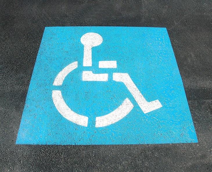 Disabled Parking - parking sign