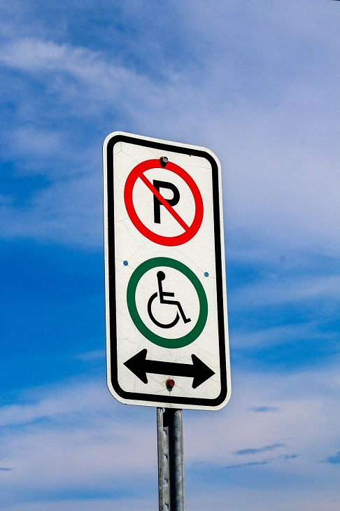 Disabled Parking - parking signs