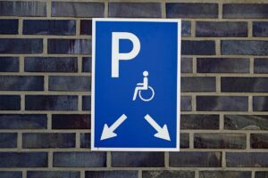 Disabled Parking - universal access sign