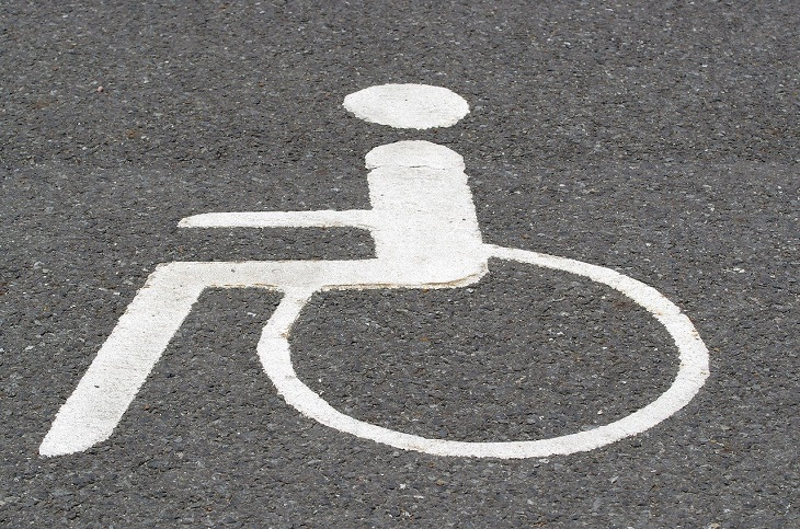 Disabled Parking - wheelchair only parking
