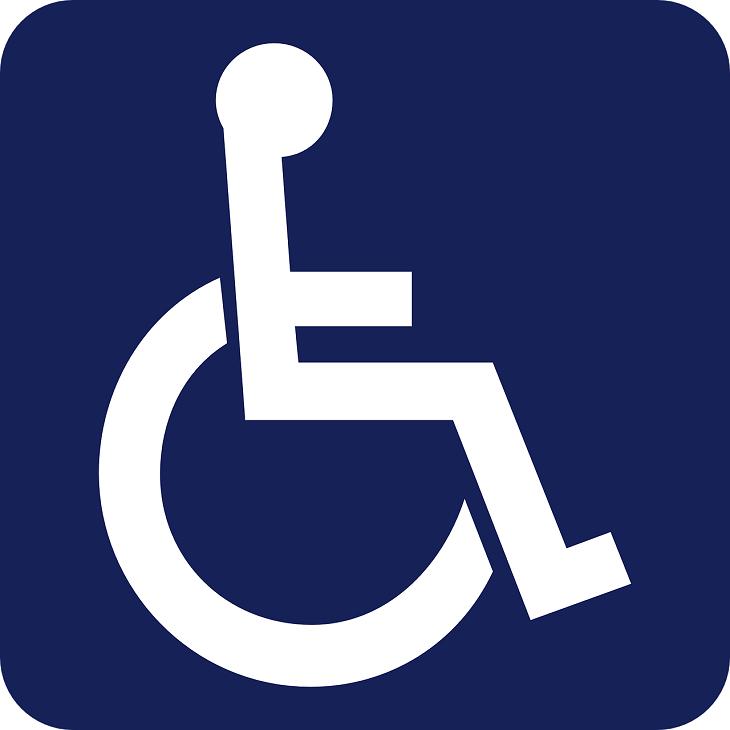 Disabled Parking - handicap parking signage