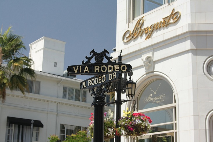 Disabled Parking - Rodeo Drive