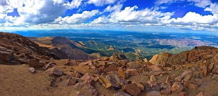 Disabled Parking - Colorado mountains
