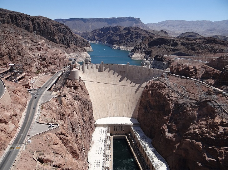 Disabled Parking - Hoover Dam