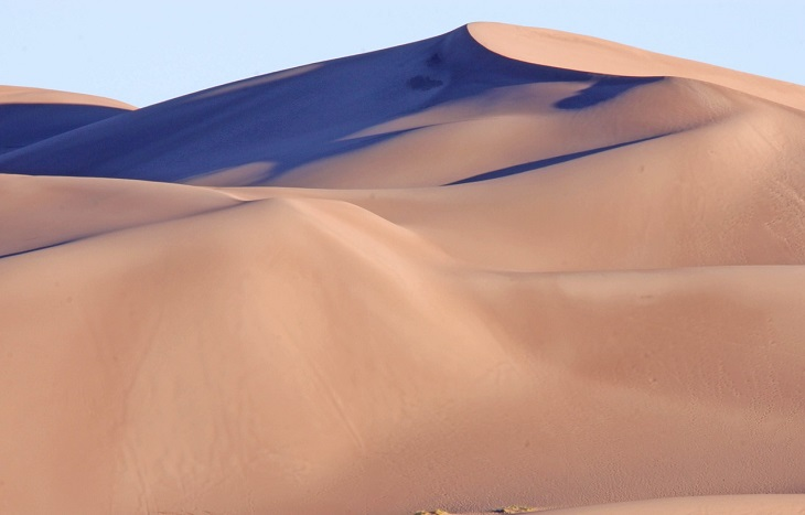 Disabled Parking - sand dunes