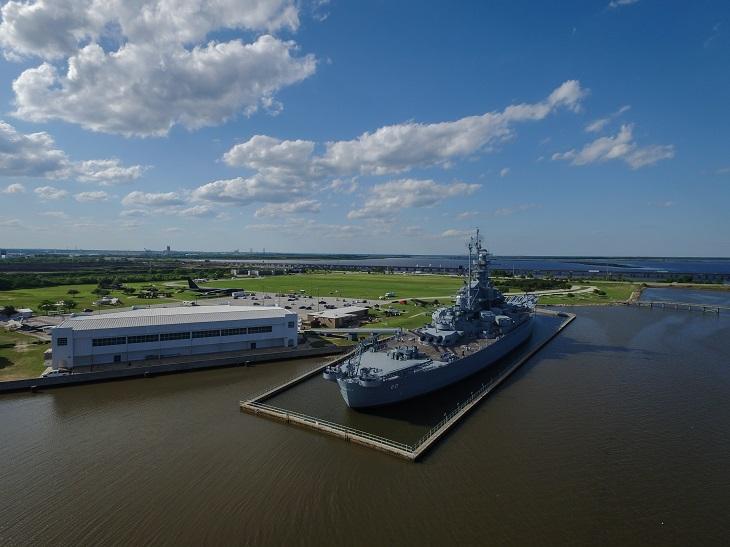Disabled Parking - USS Alabama