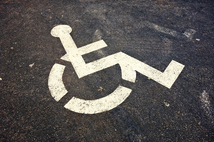 Disabled Parking - disabled parkig signage