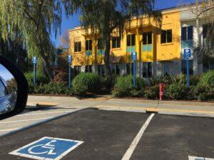 Disabled Parking - handicap parking spaces