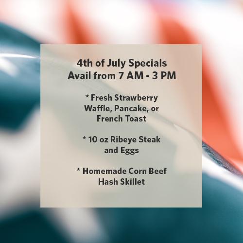 4th of july menu specials 2020