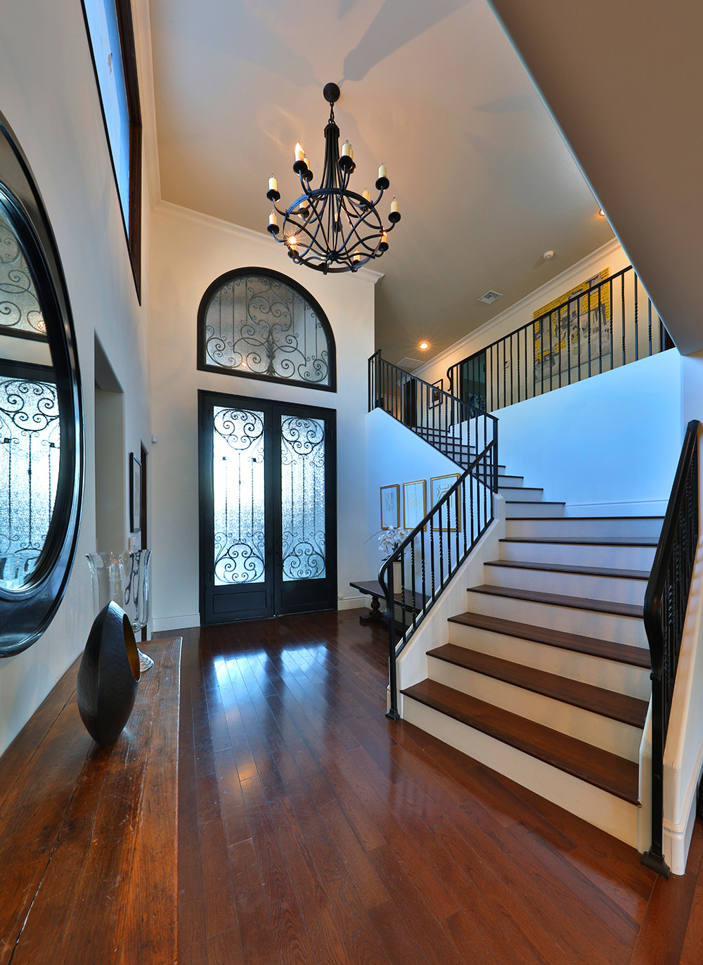 The entryway in the Super Bowl Sunday House in the valley