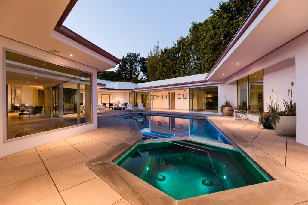 Robby Krieger's Mid-Century Modern Home — 461 Bellagio Terrace
