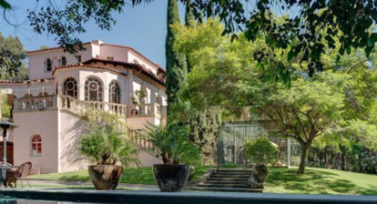 Kirstie Alley Italian Los Feliz Mansion
