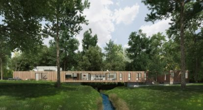 Dan Brunn minimalist house design_bridge house