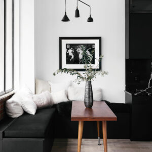black Decor in modern home | Westside DIGS Magazine editorial