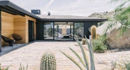 A newly opened and renovated two-bedroom California desert abode puts a beautiful, peaceful landscape closer to home for renters