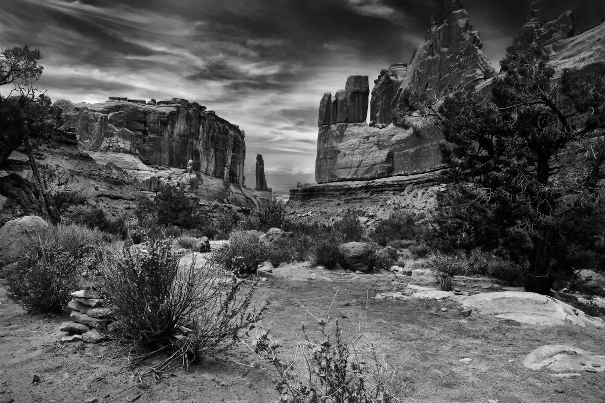 Arches NP   IMG_6884-BW-nikx