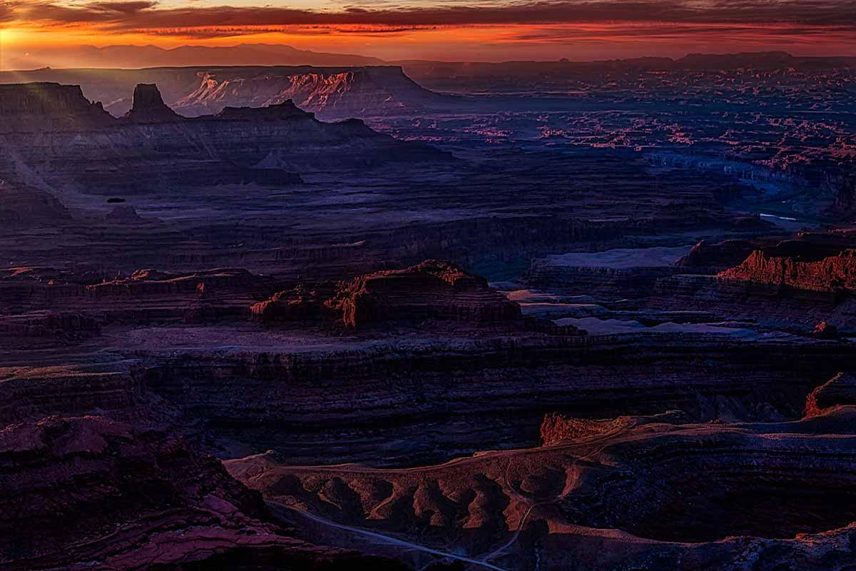 Sunrise - Dead Horse Point   _MG_1025–1200